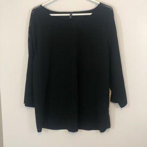 NYDJ Blouse with lace detail - Sz L